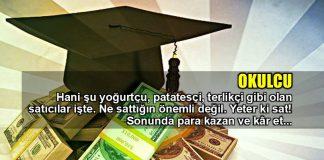 Okulcu: Kapitalizm tezgahından geçen eğitim