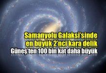 Samanyolu Galaksisi en büyük ikinci kara delik keşfi