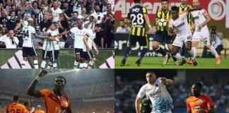 Spor Toto Süper Lig 5. hafta puan durumu