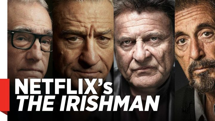 The Irishman kapak (Netflix)