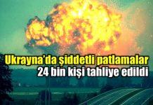 ukrayna askeri cephanelik patlama füzeler