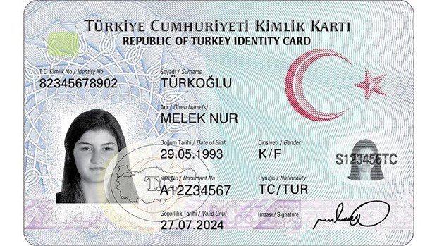 yeni kimlik karti basvuru evrak randevu