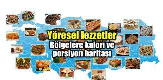 Yöresel yemekler: Bölgelere göre kalori haritası