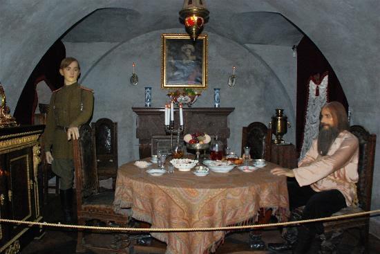 Yusupov Sarayı'ndaki temsili suikast