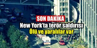 New York terör saldırısı: Ölü ve yaralılar var!