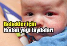 Bebekler için mucizevi hodan yağı kullanımı