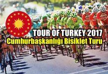 Cumhurbaşkanlığı Bisiklet Turu: Tour of Turkey 2017