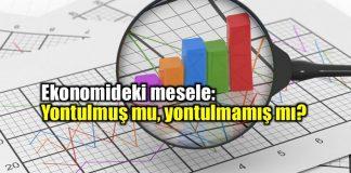 Ekonomideki mesele: Yontulmuş mu yontulmamış mı