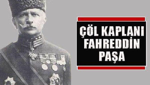 çöl kaplanı fahreddin paşa osmanlı