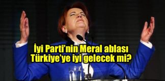 iyi parti meral akşener Türkiye cumhurbaşkanlığı başkanlık seçim 2019