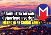 Konut sektörü yatırım İstanbul en çok değerlenen yerler