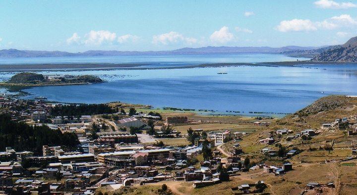 titicaca titikaka gölü peru puno