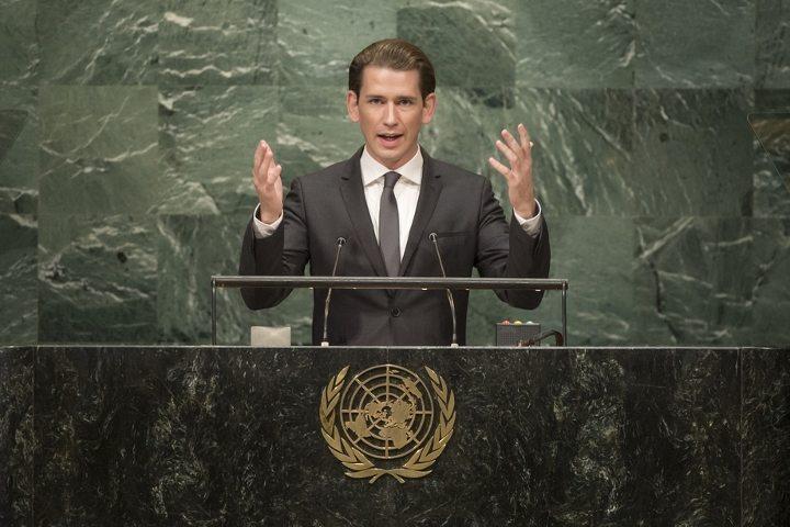 sebastian kurz austria chancellor avusturya başbakanı övp bm genel kurulu united nations