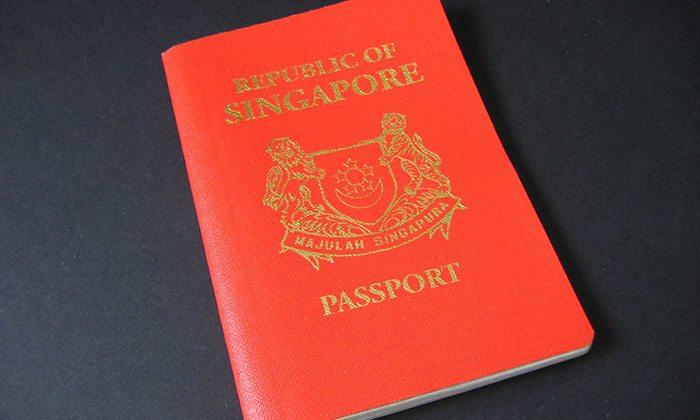 singapur pasaportu