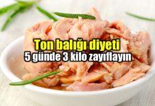 Ton balığı diyeti ile 5 günde 3 kilo zayıflayın