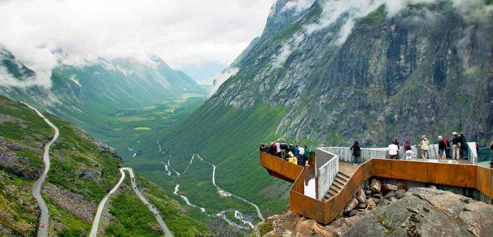 Norveç - Trollstigen