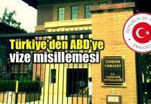 Türkiye ABD vize misillemesi