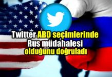 Twitter ABD seçimleri Rus müdahalesi