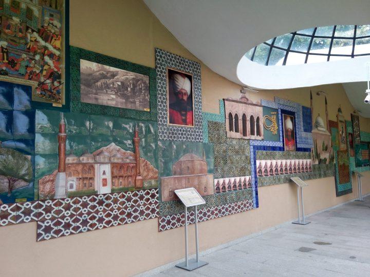 Osmanlı padişahları tarih şeridi