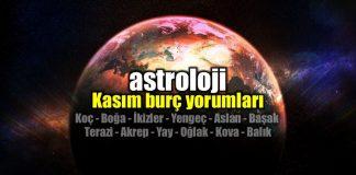 Astroloji: Kasım ayı burç yorumları