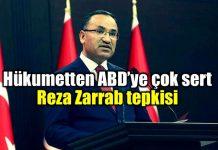 Hükumet Sözcüsü Bekir Bozdağ'dan Reza Zarrab tepkisi