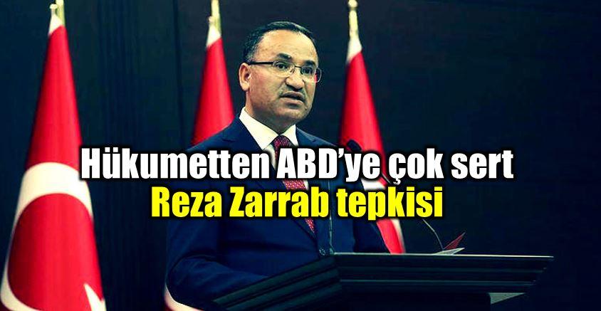 Hükumet Sözcüsü Bekir Bozdağ Reza Zarrab tepkisi