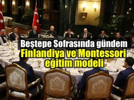 Beştepe Sofrasında Finlandiya ve Montessorieğitim modeli