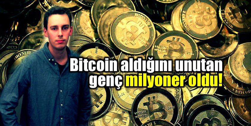 Bitcoin aldığını yıllar sonra hatırladı, milyoner oldu!