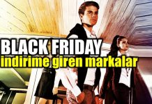 Black Friday 2017 indirime giren markalar