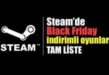 Black Friday Steam indirime giren oyunlar indirim