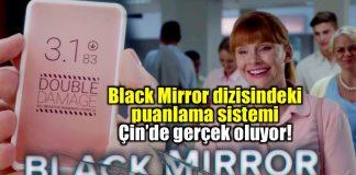 Black Mirror dizisindeki sosyal skor sistemi Çin'de gerçek oluyor!