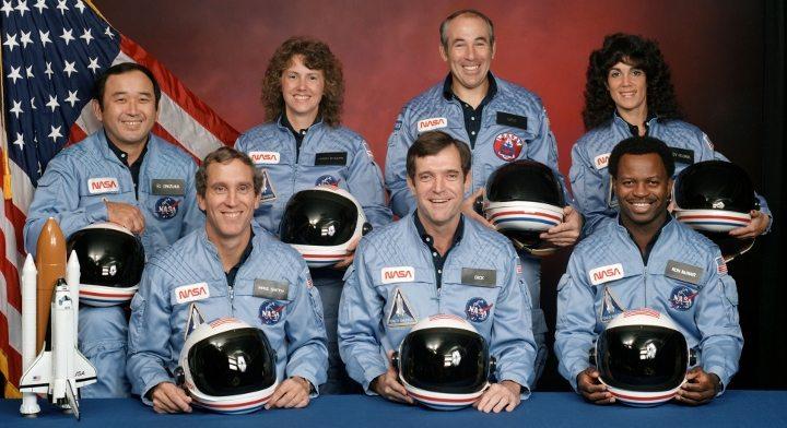 Challenger kazasında ölen astronot ekip