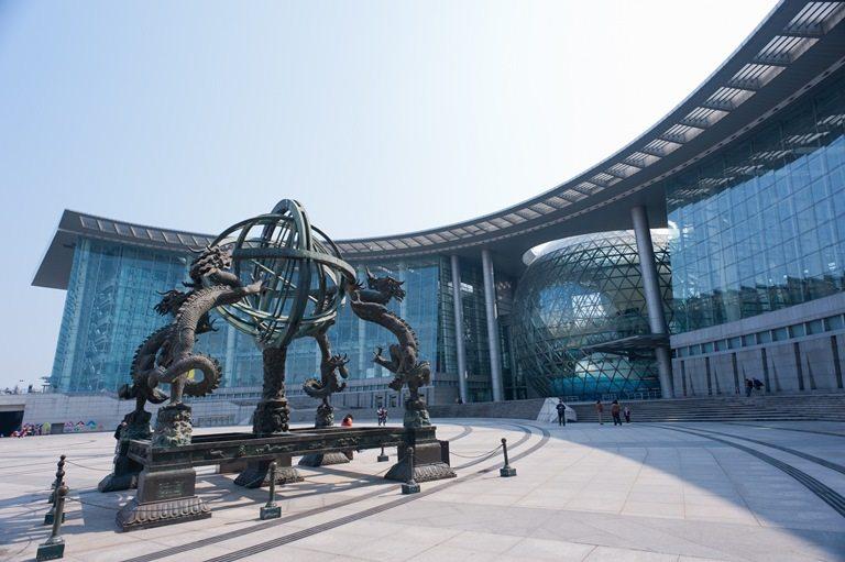 Şangay Bilim ve Teknoloji Müzesi, Şangay, Çin
