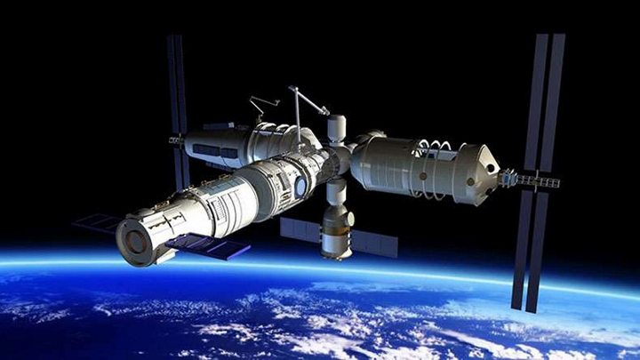 Çin'in 8,5 ton ağırlığındaki uzay istasyonunun parçaları Türkiye'ye düşebilir