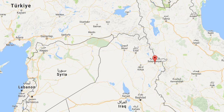 Irak'ın Süleymaniye kentinde deprem