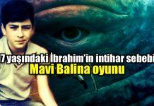 Mavi Balina oyunu oynayan 17 yaşındaki İbrahim intihar etti