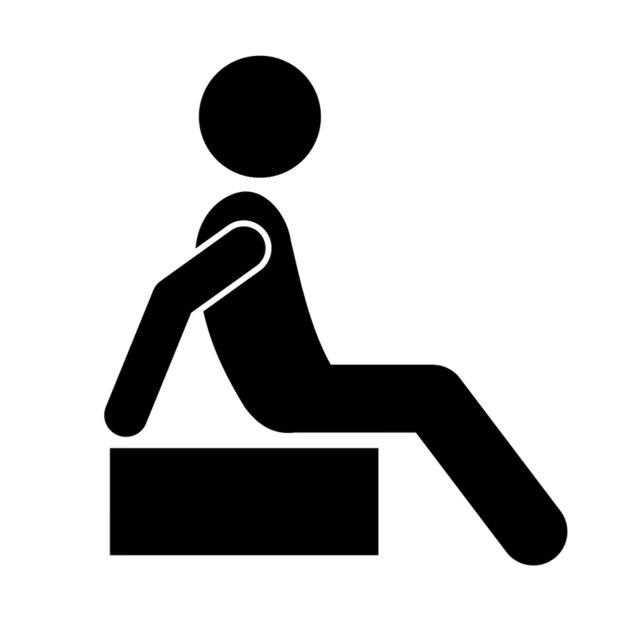 rahat oturma Oturduğu yerden uzun süre gözlem yapabilir: