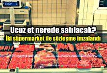 Ucuz et satışı nerede yapılacak? Et ve Süt Kurumu'ndan açıklama