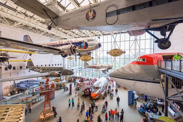 Ulusal Hava ve Uzay Müzesi, Washington, ABD