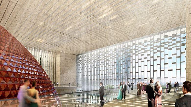 yeni istanbul akm opera binası taksim cumhurbaşkanı erdoğan proje çizimleri