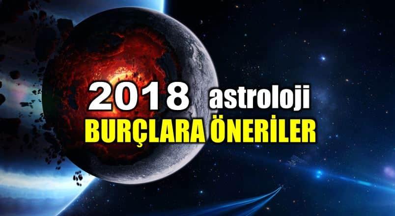 Astroloji: 2018 yılında burçlar için öneriler