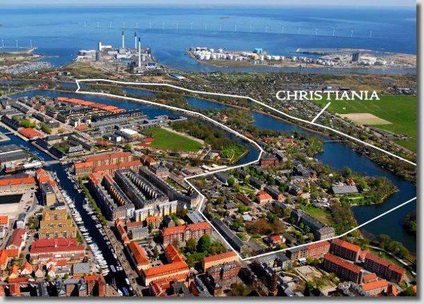 christiania danimarka kopenhag hippi geleneği