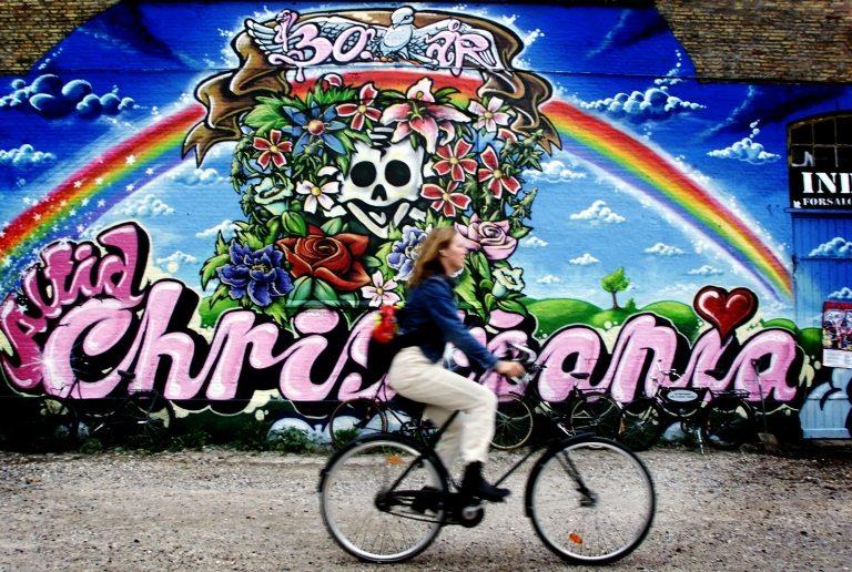 christiania danimarka kopenhag bisiklet serbest
