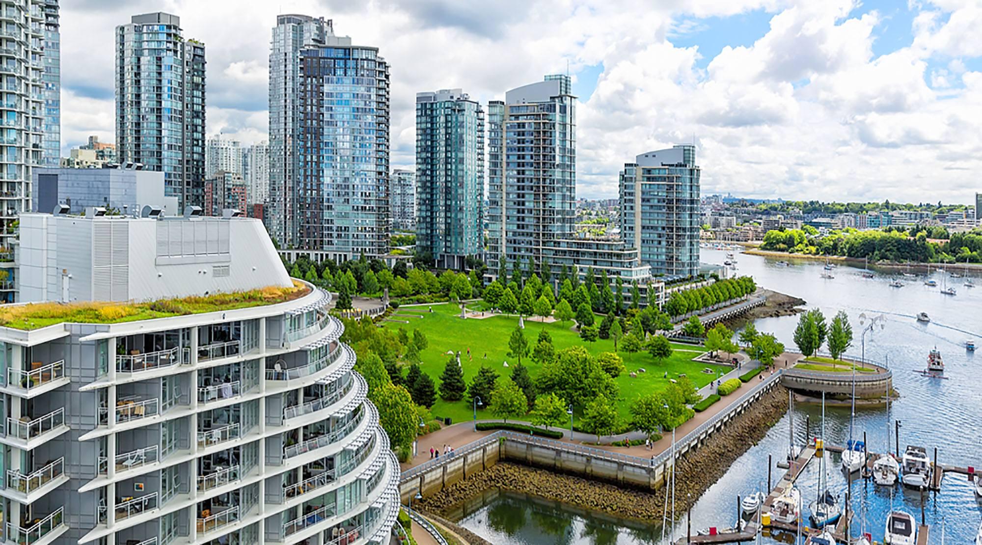 Arcadis Sürdürülebilir Şehirler Endeksi'ne göre Kuzey Amerika'nın en sürdürülebilir şehri Vancouver, Kanada.
