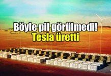 Tesla Avustralya mega pili dünyanın en büyük lithium pil