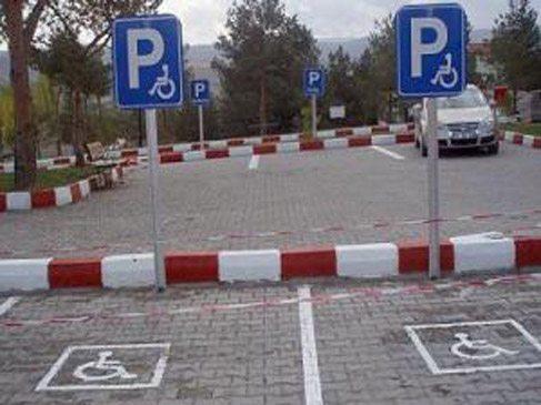 Engelli yerine park eden 216 TL ile cezalandırılacak