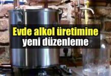 Evde alkol üretimine düzenleme geliyor!