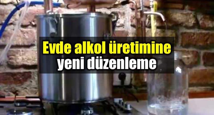 Evde alkol üretimi düzenlemesi: Etil Alkol'e Denatonyum Benzoat katılacak!