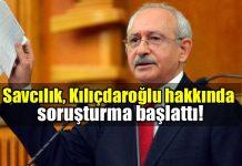 Kemal Kılıçdaroğlu Cumhurbaşkanı'na hakaretten soruşturma