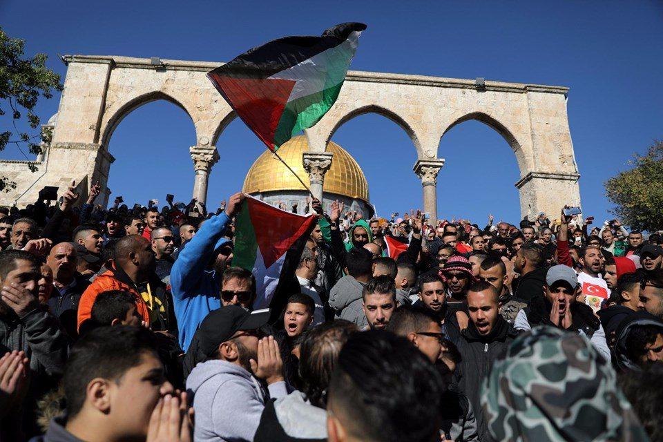 kudüs öfke cuması çatışma israil filistin